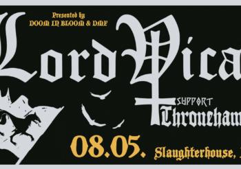 DOOM IN BLOOM presents: LORD VICAR & Thronehammer @ Slaughterhouse, Berlin