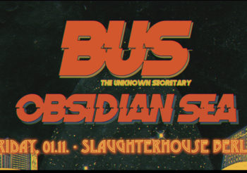 DIB pres.: BUS (GR) & Obsidian Sea (BG) | SLAUGHTERHOUSE, Berlin