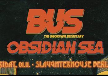 DIB pres.: BUS (GR) & Obsidian Sea (BG) | SLAUGHTERHOUSE, Berlin